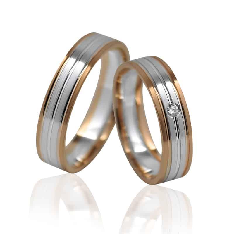 Ráj snubních prstenů elegance 1130AK užší šíře