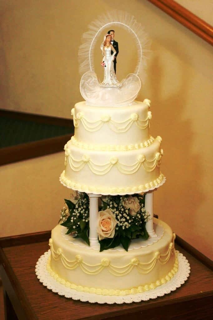 Golemův restaurant - svatební dort