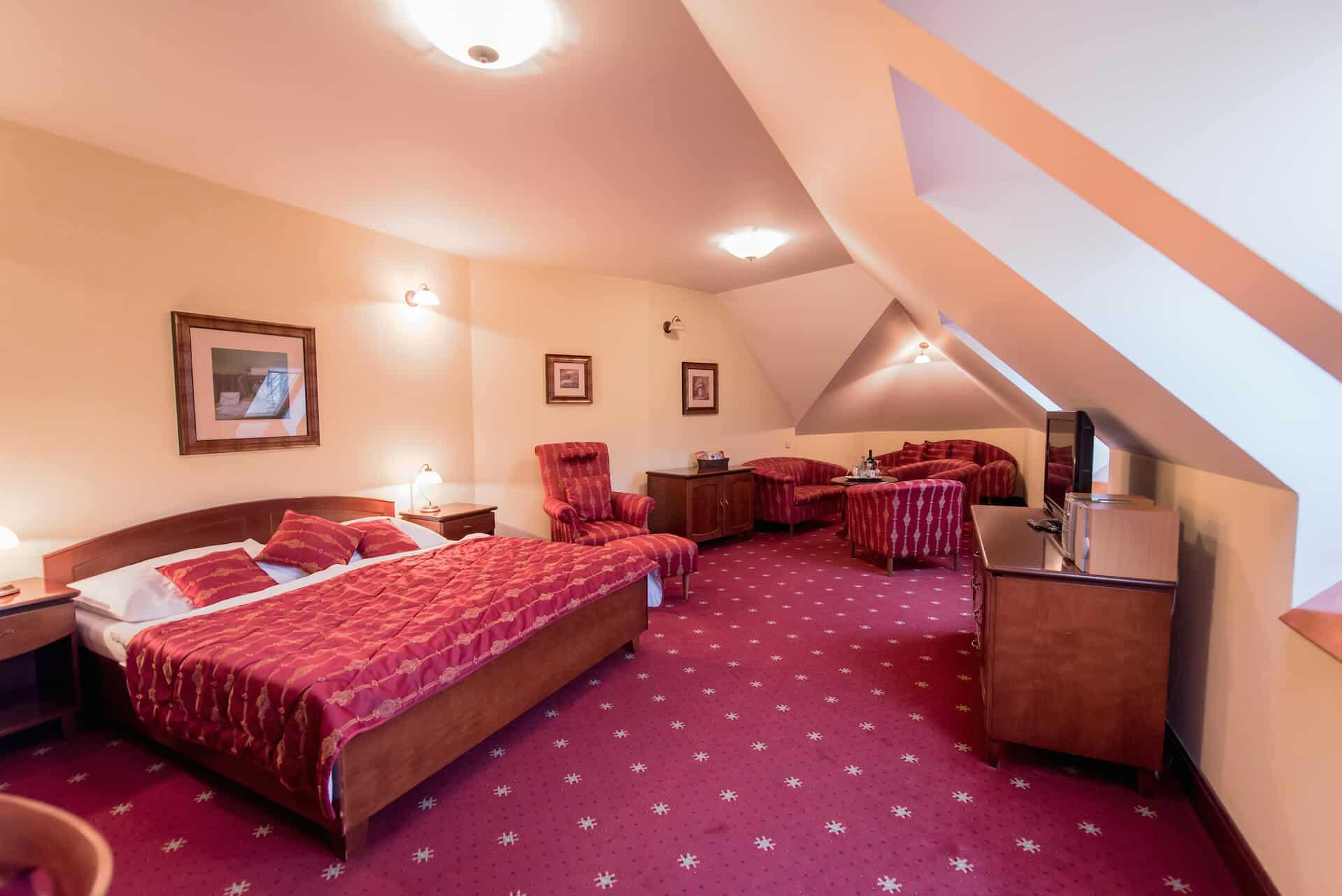 Hotel Octárna pokoj