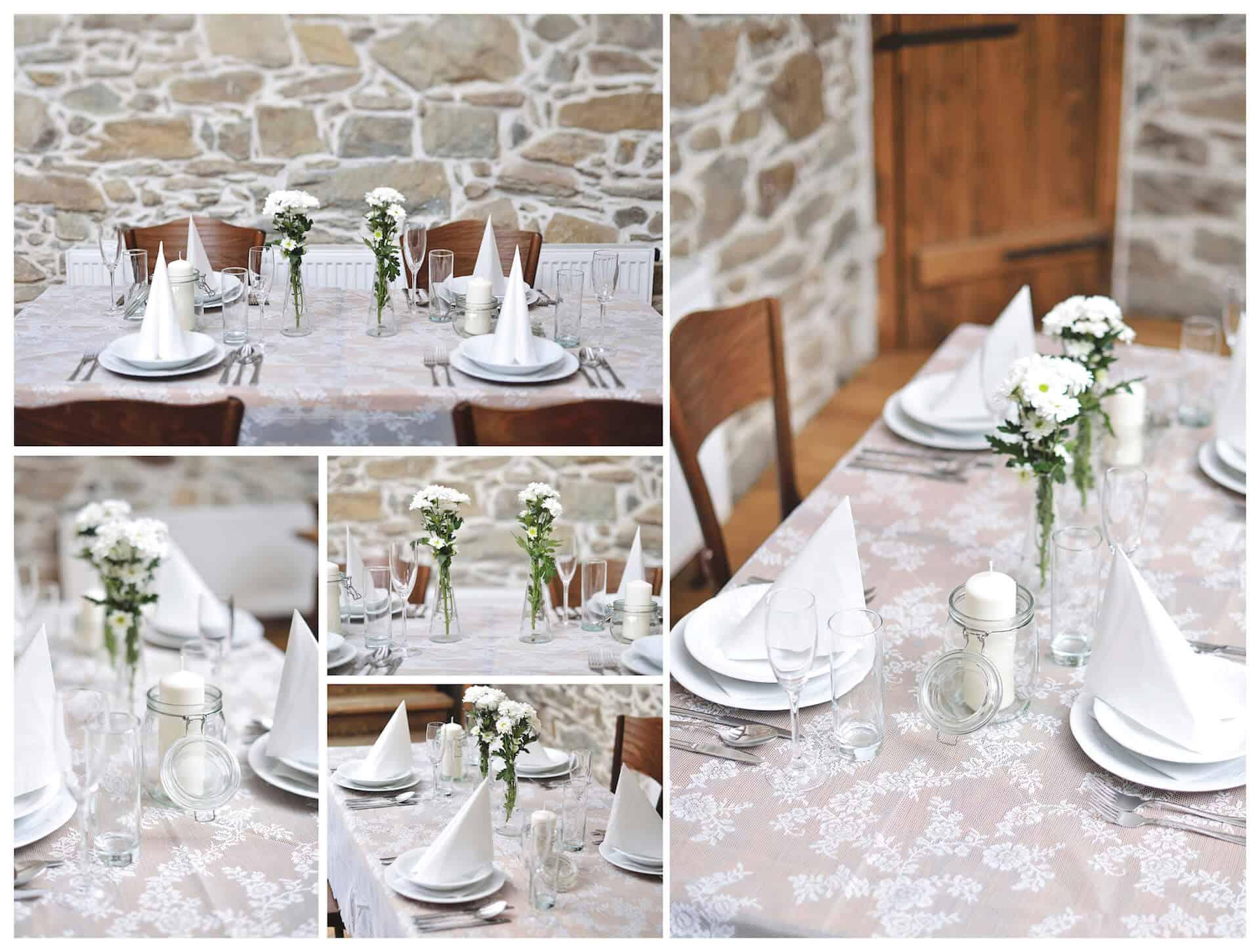 Hotel Všetice - svatební hostina