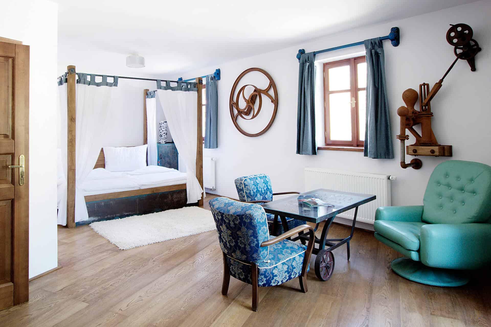Hotel Všetice - svatební apartmá
