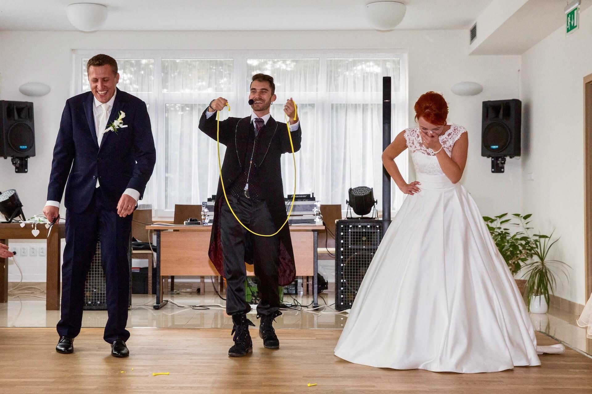 Kouzelník Martin Kellman - kouzlo s novomanželi