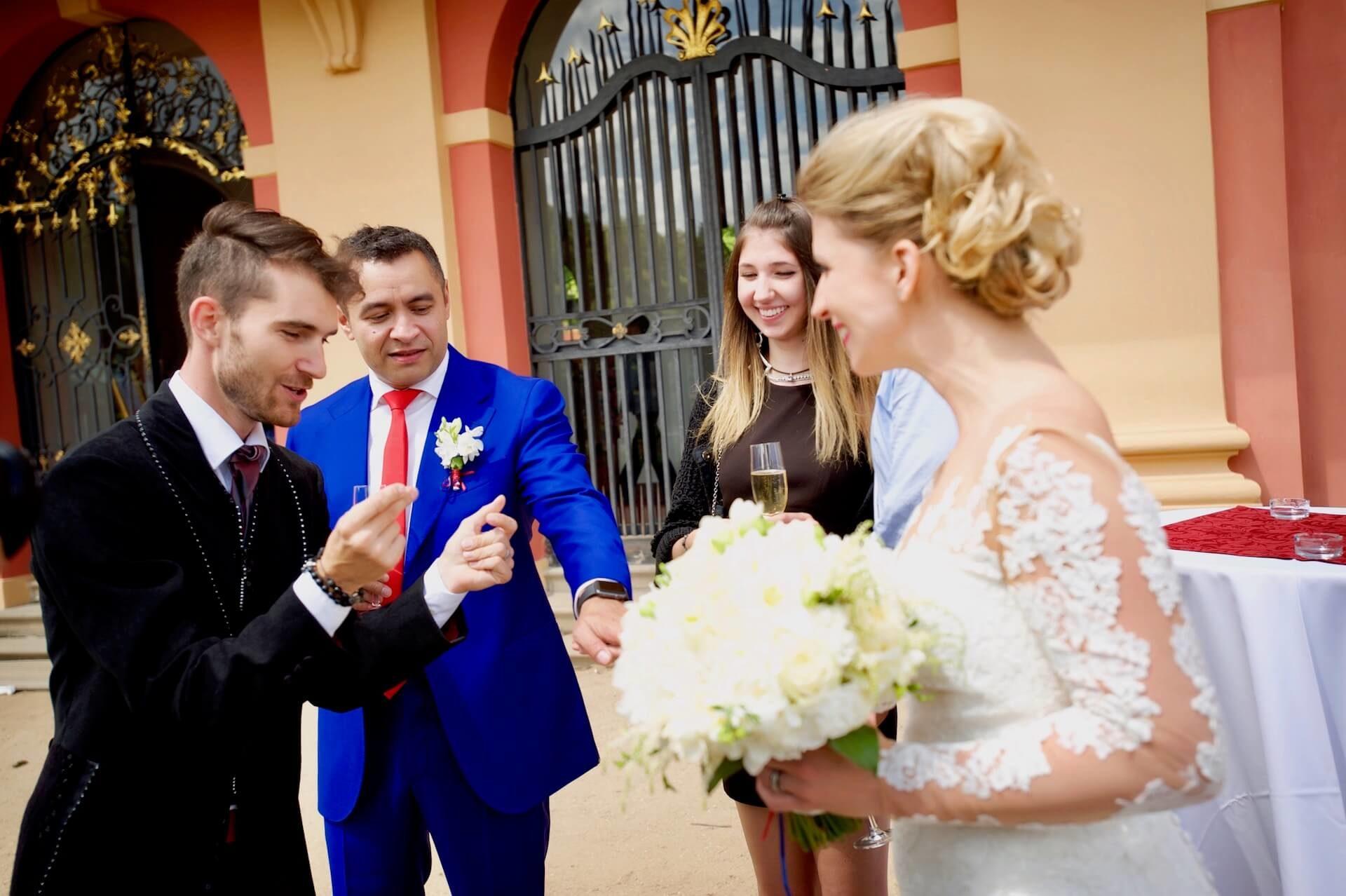 Kouzelník Martin Kellman - kouzlo pro nevěstu