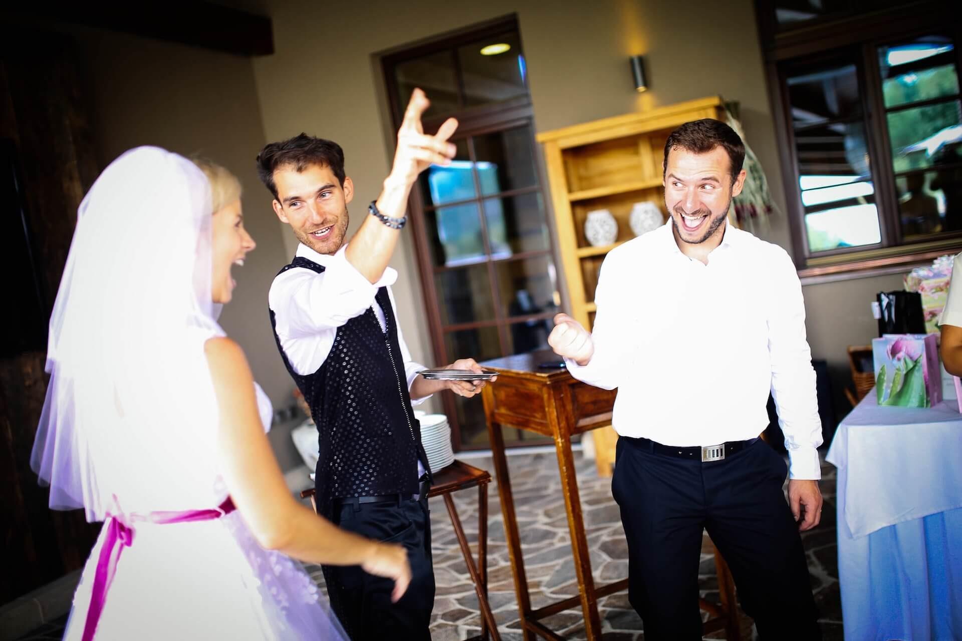 Kouzelník Martin Kellman - mikromagie pro nevěstu