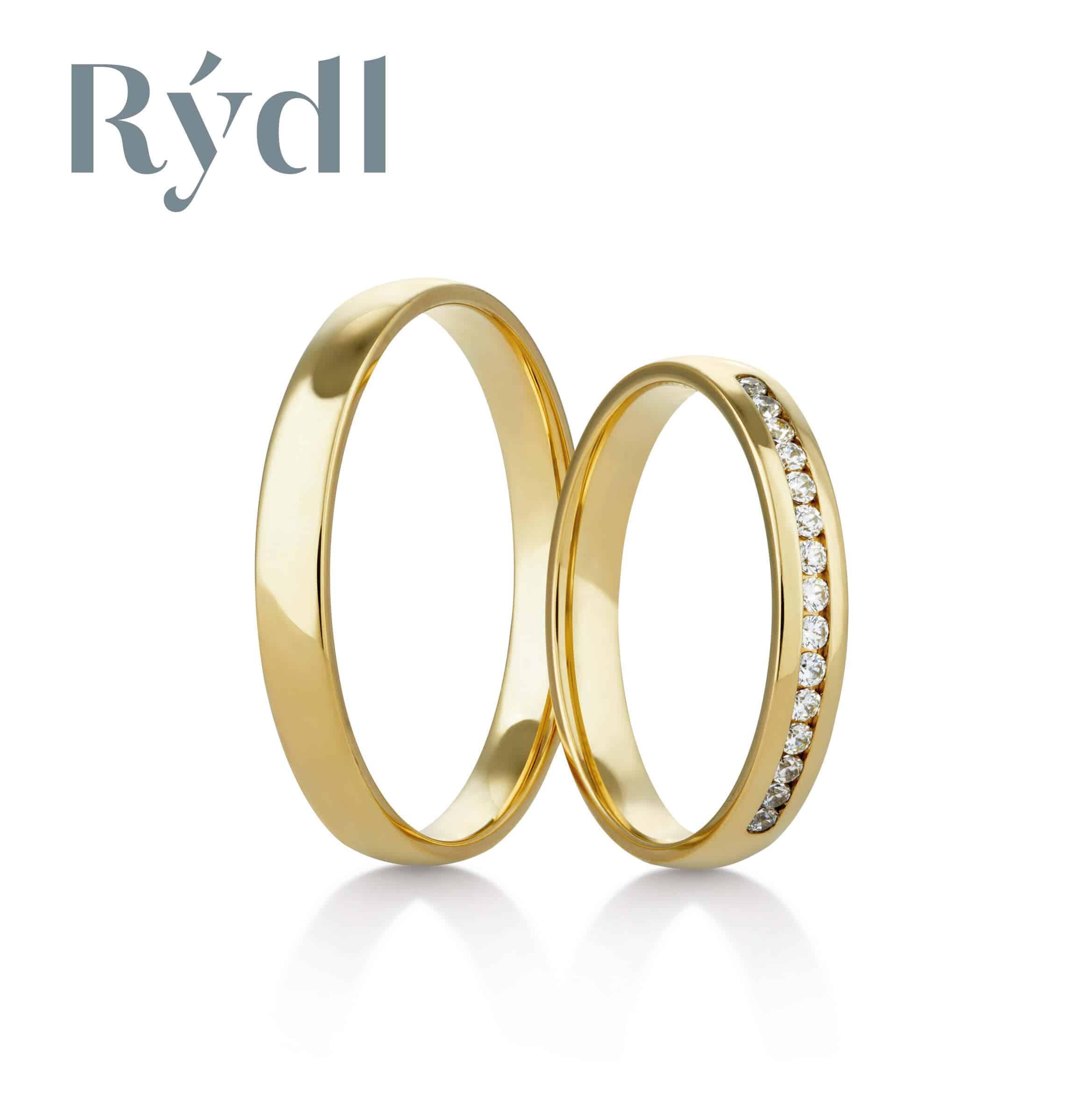 Snubní prsteny Rýdl 417