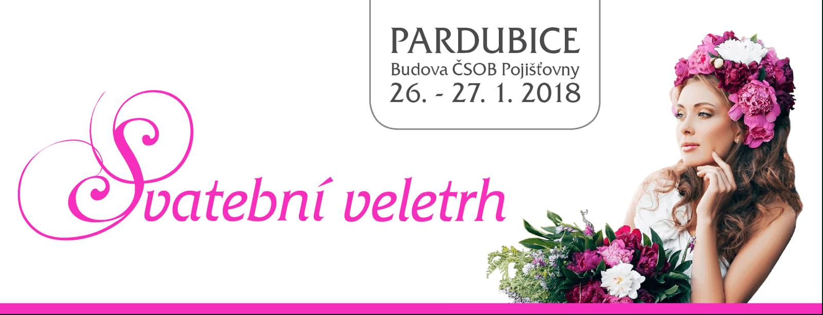 svatební veletrh Pardubice 26.-27.1.2018
