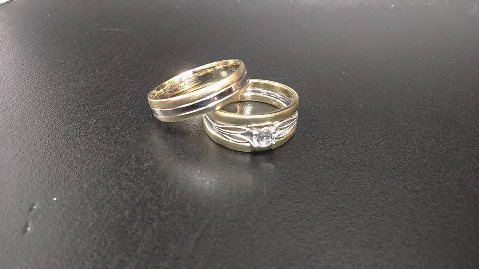 Zlatnictví Kalaš skládané prsteny set
