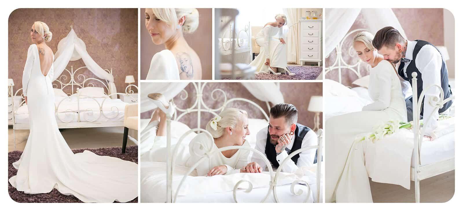 Svatební fotografie od Amaka