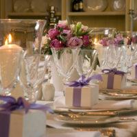 Svatební hostina na Chateau Mcely