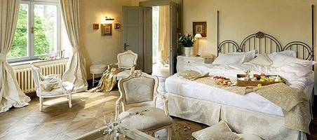 Chateau Mcely - svatební pokoj