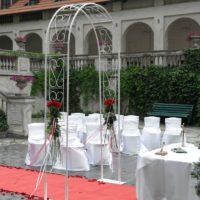 Svatební obřad zámek Poruba