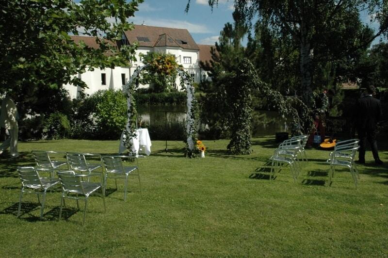 Svatební obřad v Yard Resortu