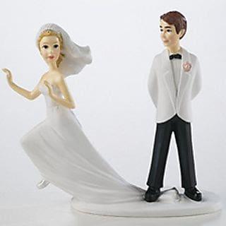 Figurky ženicha a nevěsty