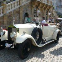 Projížďka Rolls Roycem