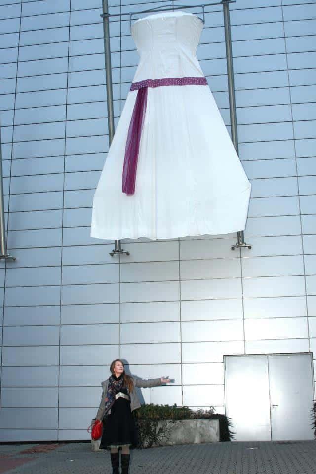 Největší svatební šaty