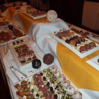 Svatební catering - zákusky