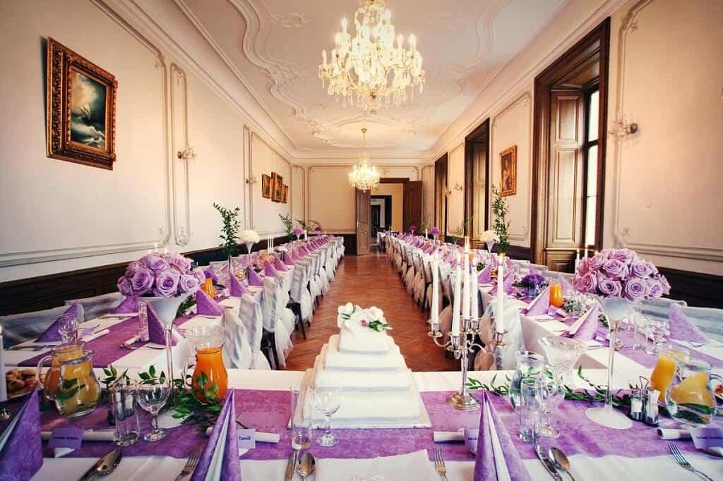 Svatební hostina - Zámek Napajedla