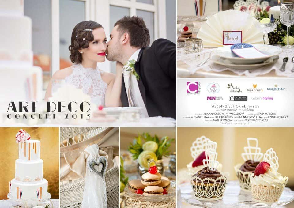 Svatební inspirace ve stylu Art Deco
