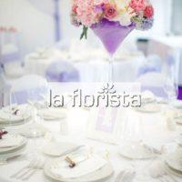 Dekorace svatební tabule