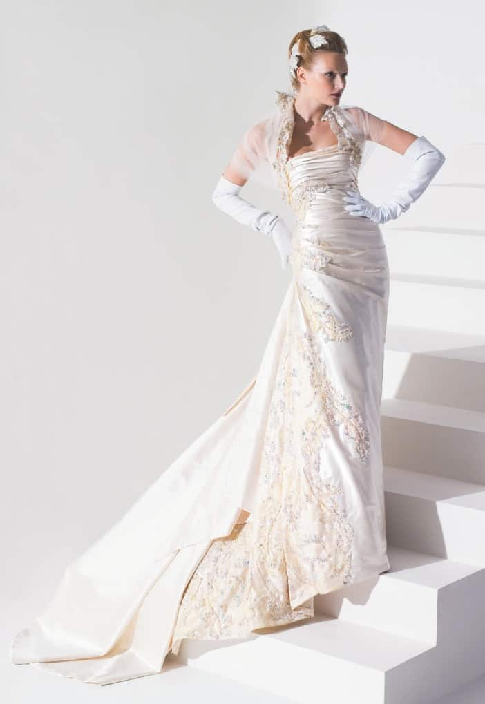 Luxusní svatební šaty Blanky Matragi
