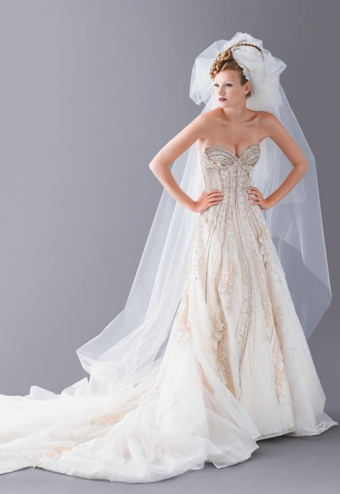 a4d56a121668 Luxusní svatební šaty Blanky Matragi. Luxusní svatební šaty
