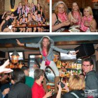 Aloha Bar nevěsta skáče do davu