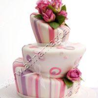 Anna Magdalena růžový dort