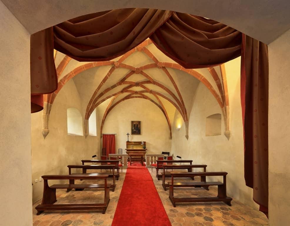 Zámek Bechyně kostel
