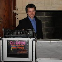 DJ Goro DJ za pultem