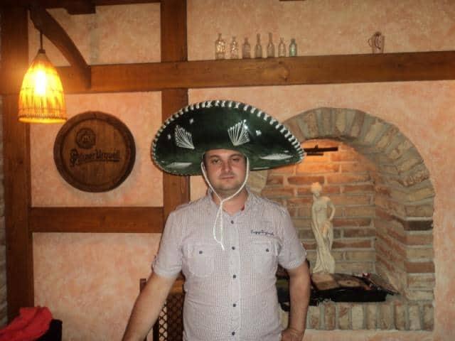 DJ na svatbu Mirek Vobora s Mexickým kloboukem