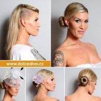 Dolce Diva účesy blondýna dlouhé vlasy