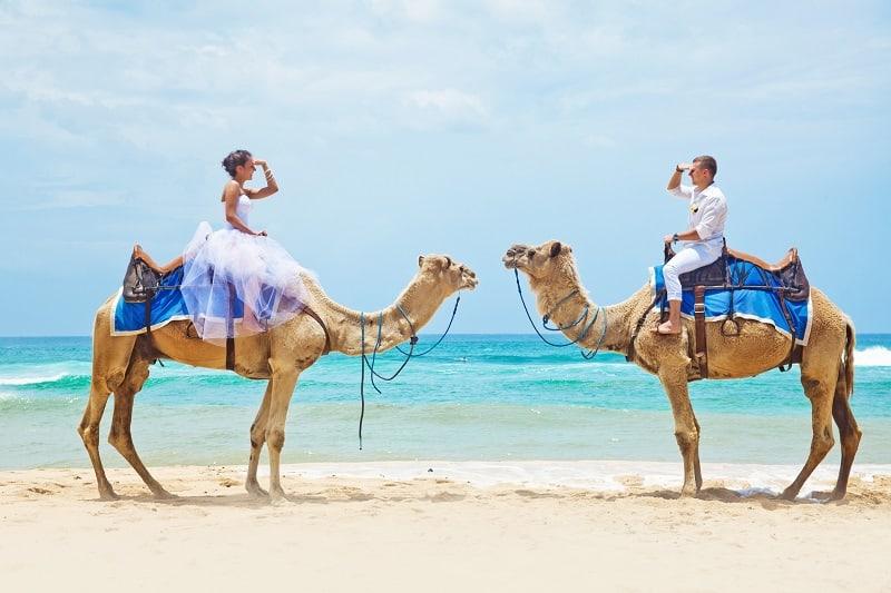 Exotická svatební cesta