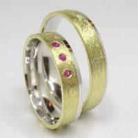 Helios prsteny zlaté s kamínky