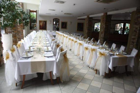 Hotel Prestige svatební tabule