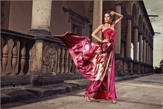 Jiřina Tauchmanová červené šaty