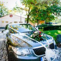 Květinářství Flowers & Living nazdobené auto