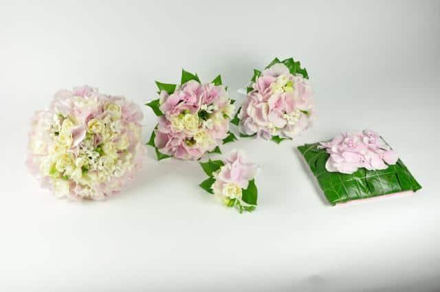 Květiny Studio Detail světlé kytice