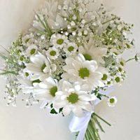 Svatební kytice bílá