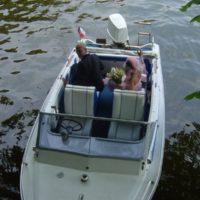Novomanželé na vodě