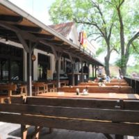 Restaurace Na Statku venkovní sezení