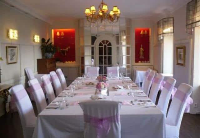 Restaurant a hotel Nebozízek tabule interiér