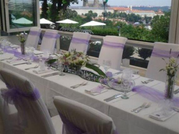Restaurant a hotel Nebozízek tabule s výhledem
