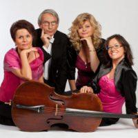 Rubin Quartet opřeni o violonchello