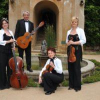 Rubin Quartet před kašnou