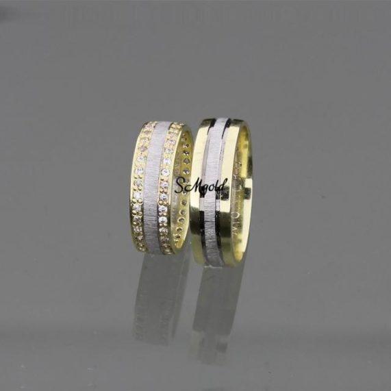 SMGOLD prsteny kombinované