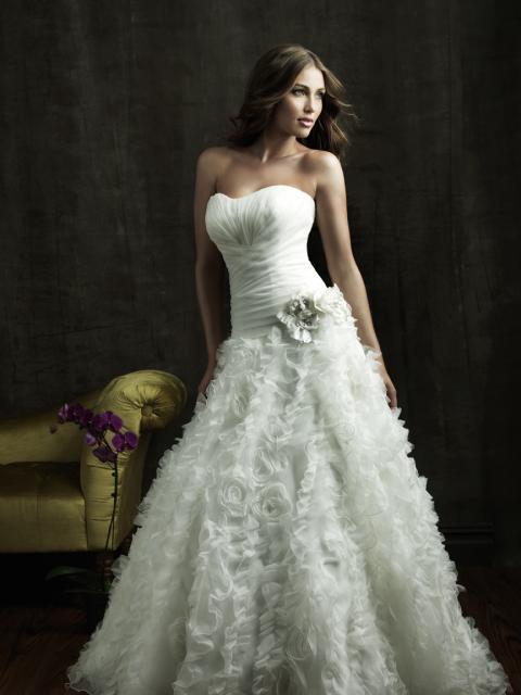 Salon Bliss šaty s květinovou sukní