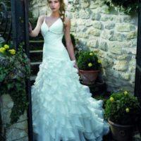 Salon JAS šaty řasené