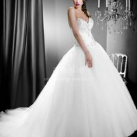 Salon JAS šaty s tylovou sukní
