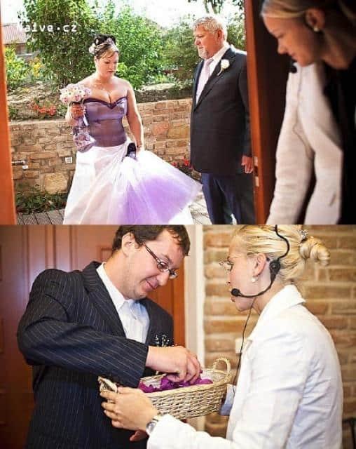 Salon Naive svatební agentka a nevěsta