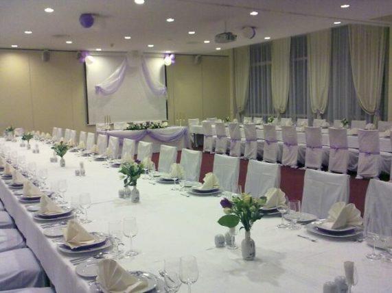 Spa Resort Sanssouci svatební tabule